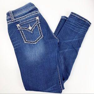 Miss me Relaxed Skinny Jeans Mid Rise